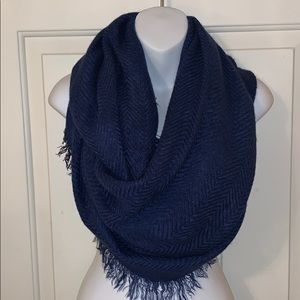 Charming Charlie Blue Infinity Scarf